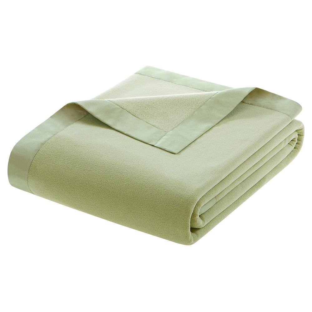 Micro Fleece Blanket (Full/Queen) Sage (Green)