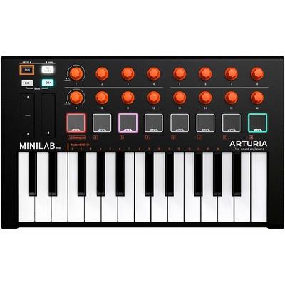 Arturia MiniLab MKII Mini Hybrid Keyboard Controller Orange Edition