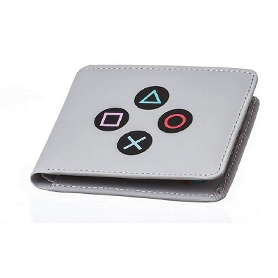 Rubber Road PlayStation Controller Men's Bifold Wallet