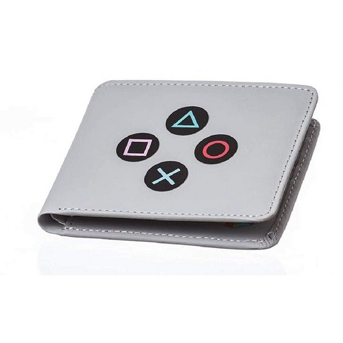 Rubber Road PlayStation Controller Men's Bifold Wallet - image 1 of 2