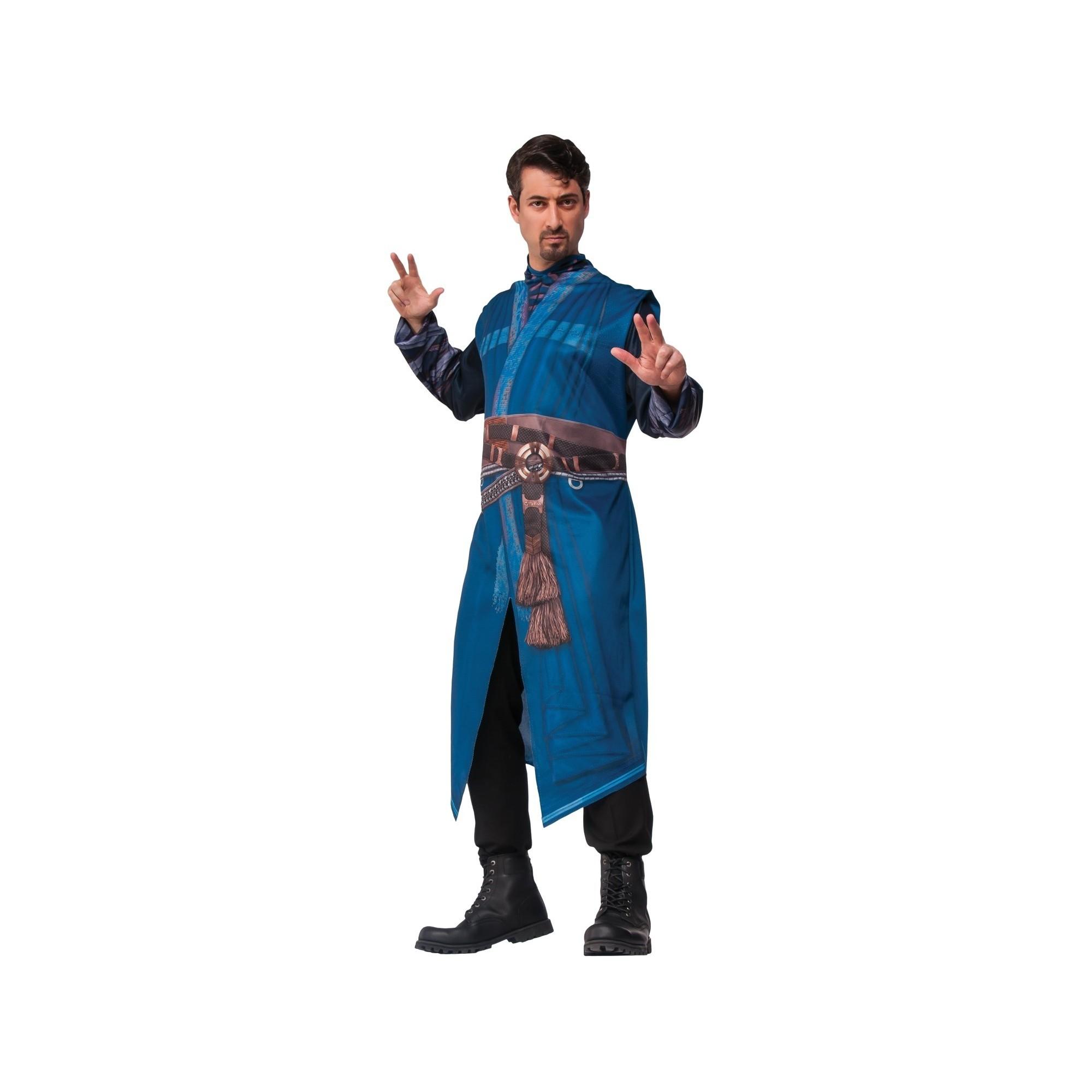 Marvel's Doctor Strange Robe Adult Costume One Size, Men's, Blue