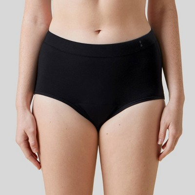 Thinx for All Women's Moderate Absorbency High-Waist Brief Period Underwear
