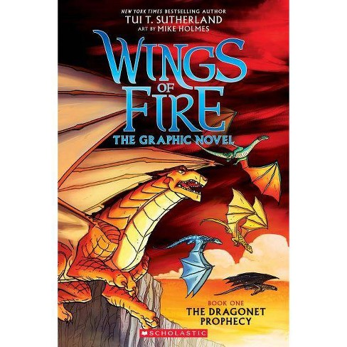 Wings of Fire 1 : The Dragonet Prophecy -  (Wings of Fire) by Tui Sutherland (Paperback) - image 1 of 1