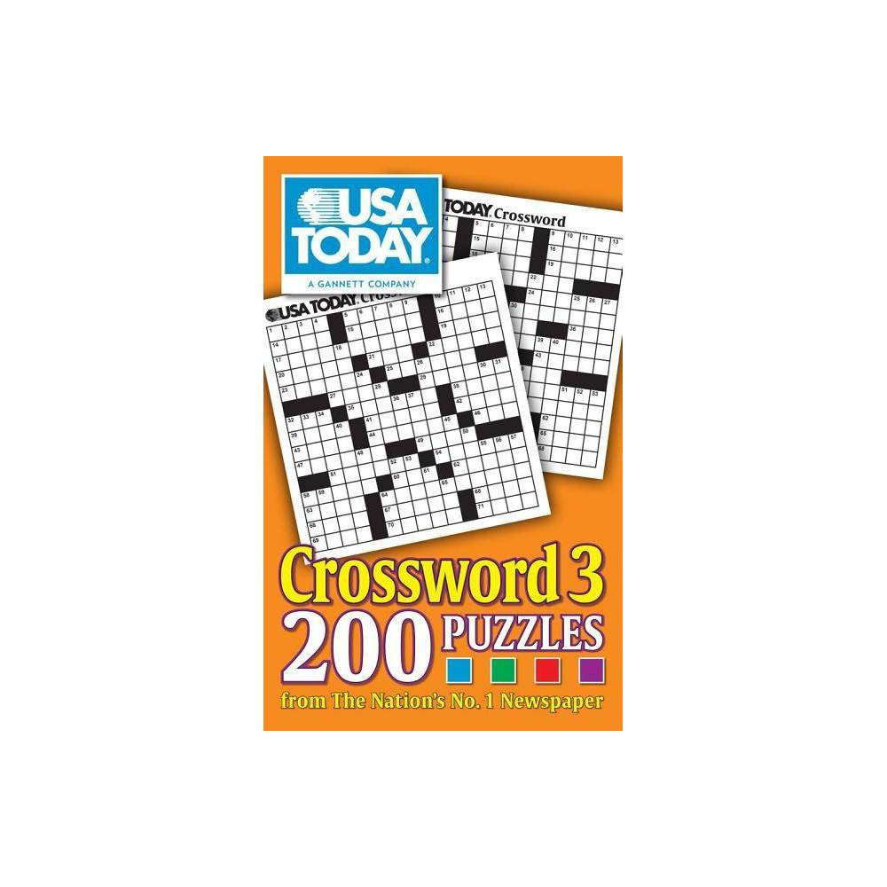 Usa Today Crossword 3 Usa Today Crosswords By Usa Today Paperback