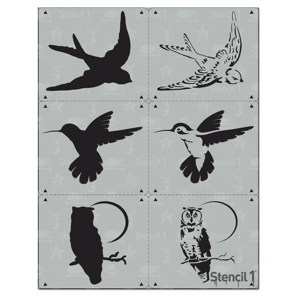 Stencil1 Bird Multipack 3ct - Layered Stencil 8.5
