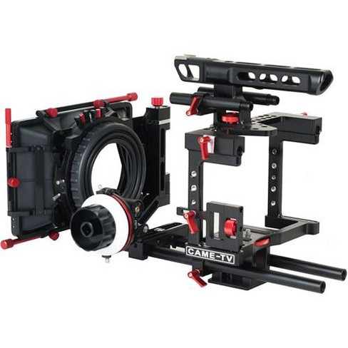 Came-TV DSLR Cage for Panasonic GH4, Sony A7s, Canon 5D Mark III Cameras - image 1 of 4