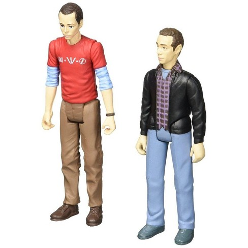"Bif Bang Pow The Big Bang Theory Sheldon & Stuart (Con Exclusive) 3 3/4"" Action Figures - image 1 of 4"