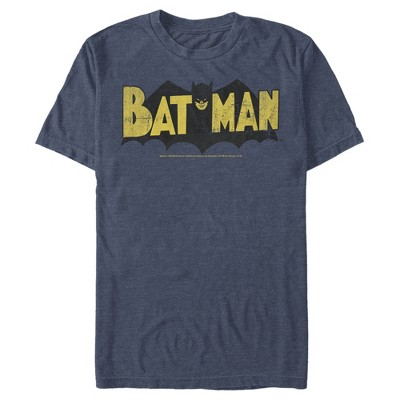 Men's Batman Logo Vintage T-Shirt