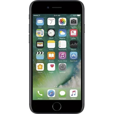 Apple iPhone 7 Pre-Owned (GSM Unlocked) 256GB Smartphone - Black