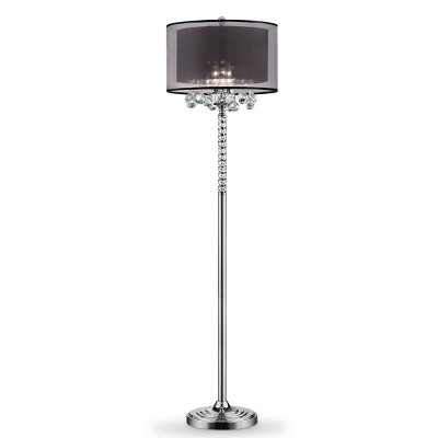 "OK Lighting 62.5""H Effleurer Floor Lamp"