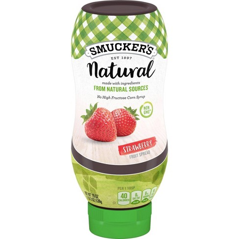 Natural Strawberry Fruit Spread - 19oz