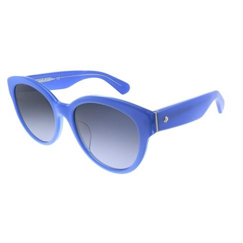 Kate Spade Low Bridge Fit Jenisa/F/S QPO Womens Cat-Eye Sunglasses Blue 53mm - image 1 of 3
