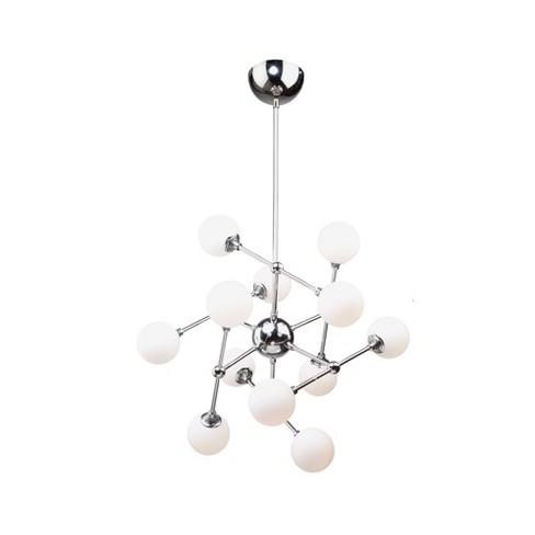 """Artcraft Lighting AC7562 Luna 12 Light 26"""" Wide 3000K LED Abstract Sputnik Chandelier - image 1 of 1"""