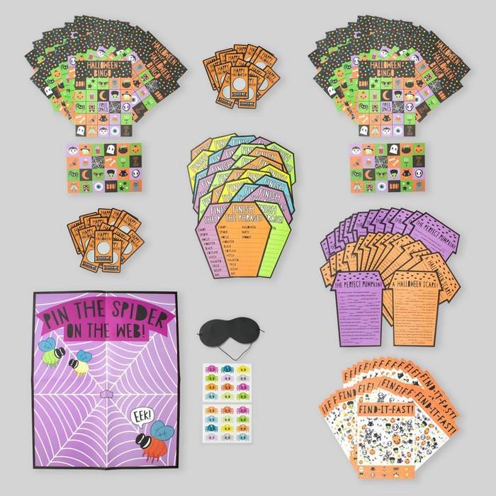 8pk Kids Halloween Party Games - Bullseye's Playground™ - image 1 of 11