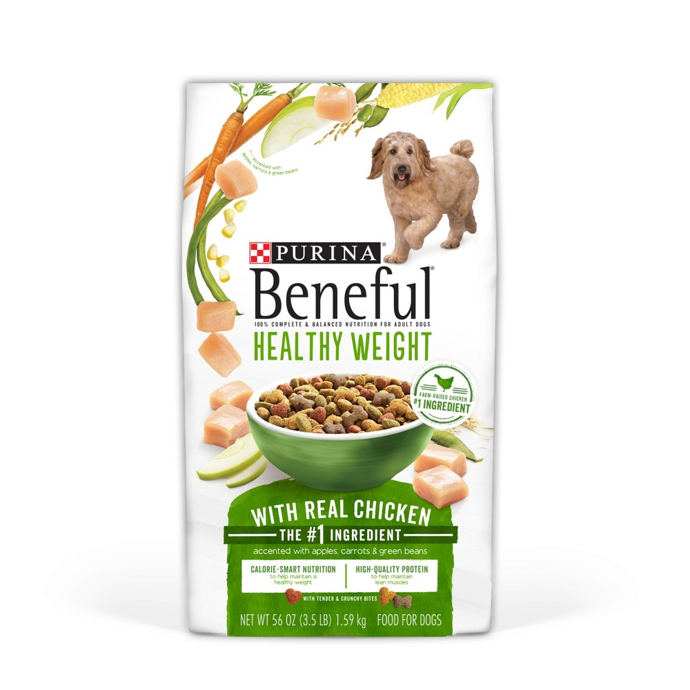Purina Beneful Healthy Weight With Real Chicken Dry Dog F...
