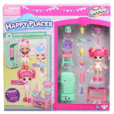 Happy Places™ Shopkins™ Welcome Pack - Gourmet Kitty Kitchen - image 1 of 5