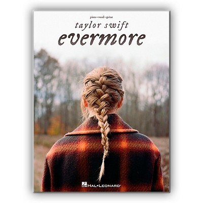 Hal Leonard Taylor Swift - Evermore Piano/Vocal/Guitar Songbook