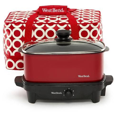West Bend 5 Qt. Slow Cooker - image 1 of 7