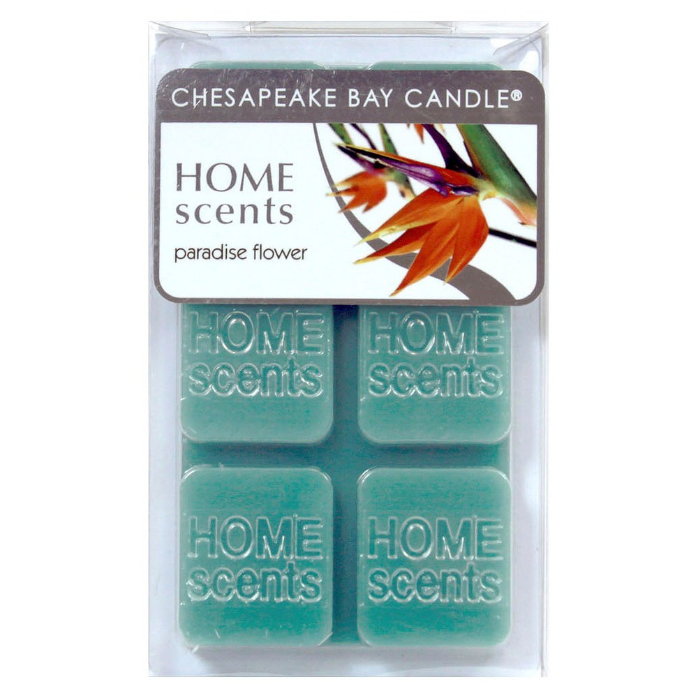 6pk Wax Melts Paradise Flower - Home Scents By Chesapeake Bay Candle