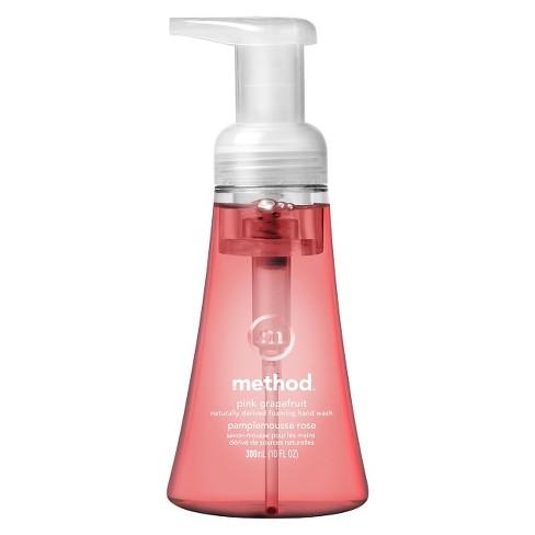 Method Pink Grapefruit Foaming Hand Wash - 10 fl oz - image 1 of 4