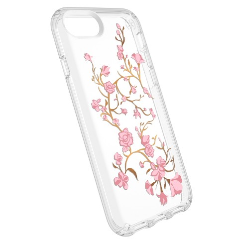 half off 64e3a ab910 Speck Apple iPhone 8/7/6s/6 Case Presidio - Pink Golden Blossoms