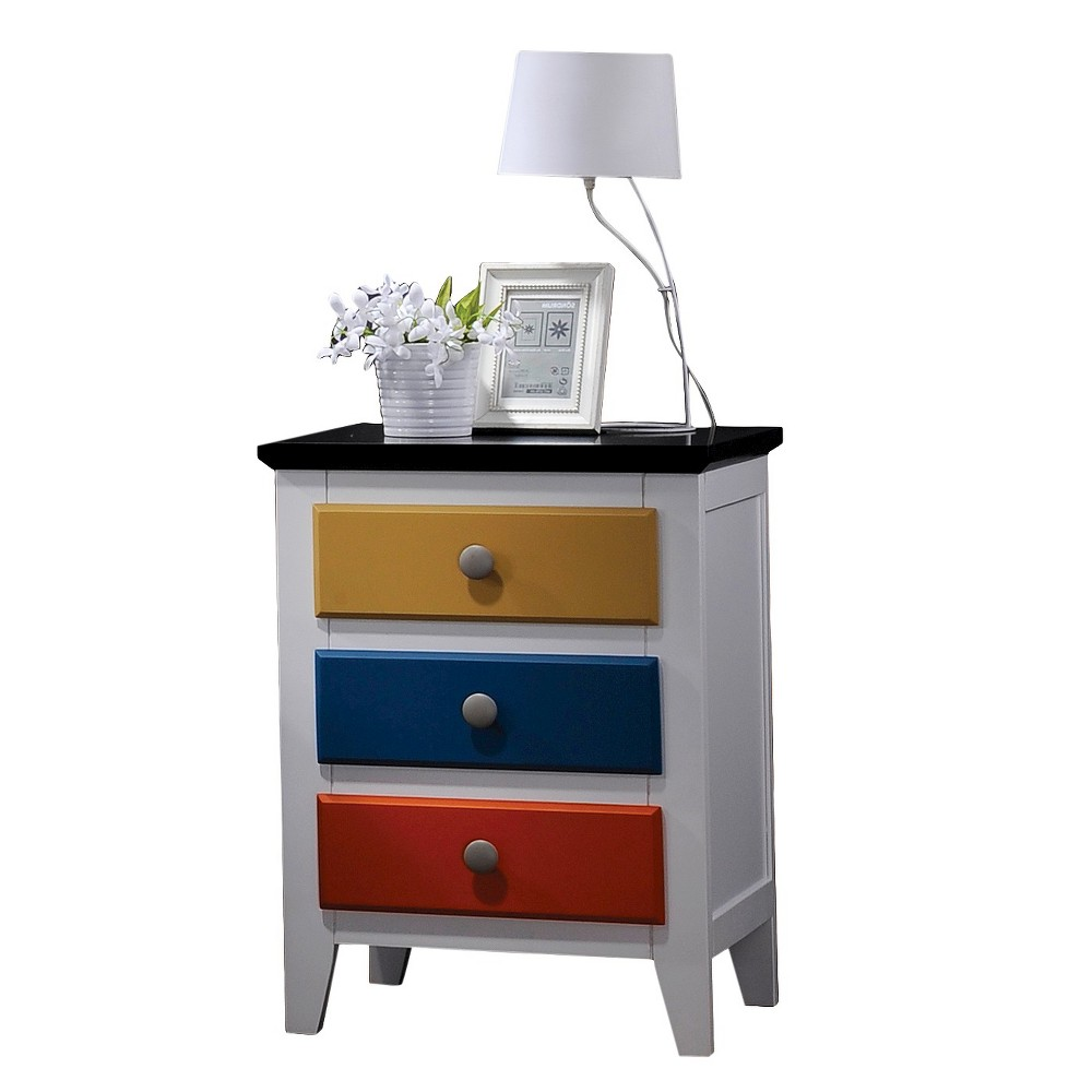 Image of ACME Kids Nightstand Rainbow