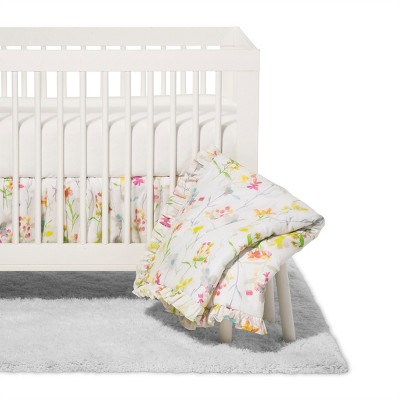 Trend Lab 3pc Crib Bedding Set - Wildflowers