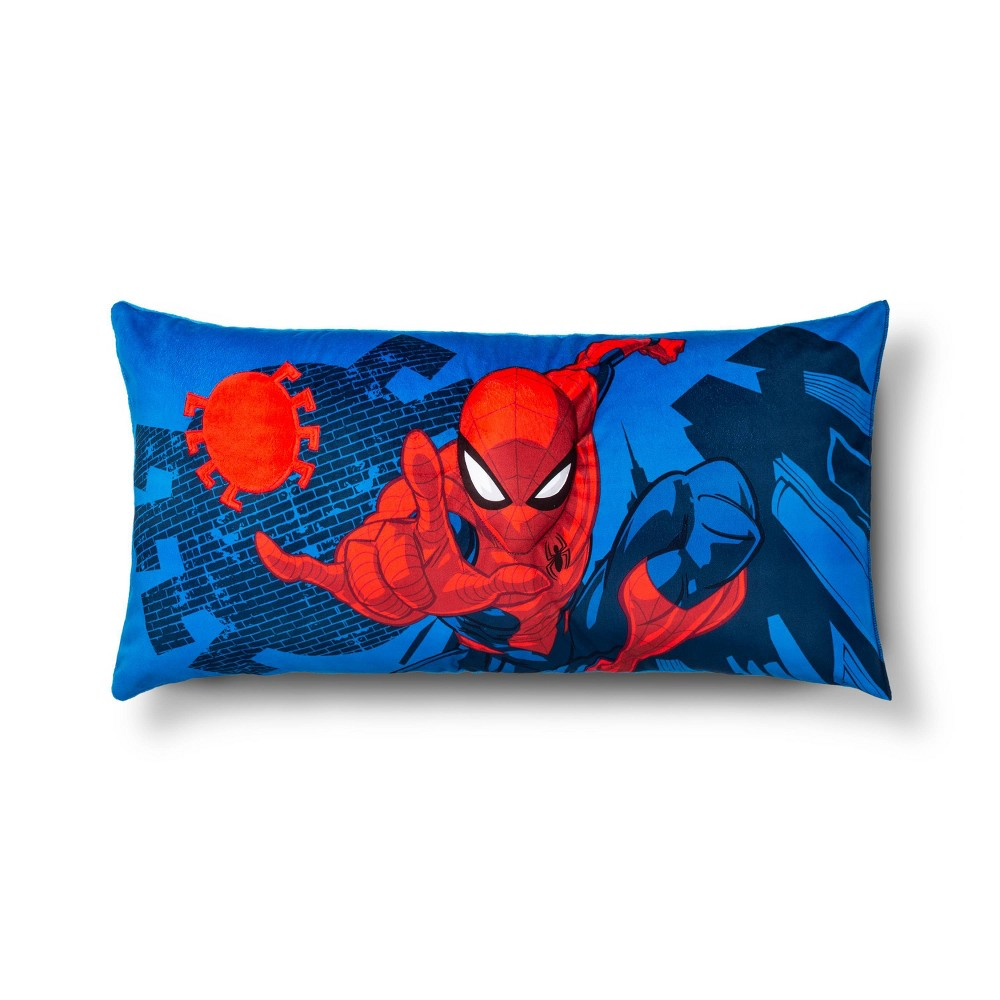 Image of Marvel Spider-Man Body Pillow Blue