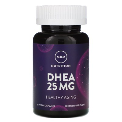 MRM Nutrition, DHEA, 25 mg, 90 Vegan Capsules, Dietary Supplements