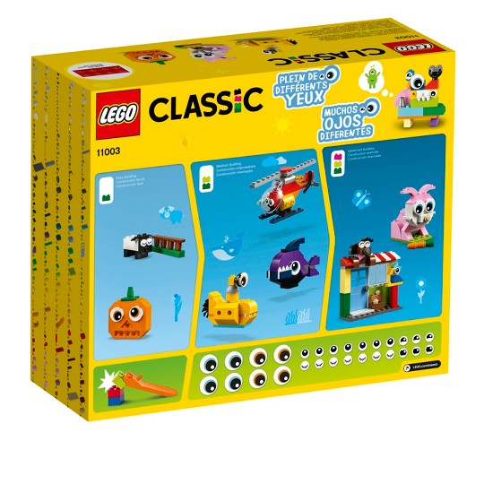 LEGO Classic Bricks and Eyes 11003 image number null