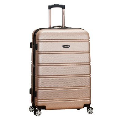 Rockland Melbourne 28  Expandable Hardside Spinner Suitcase - Champagne
