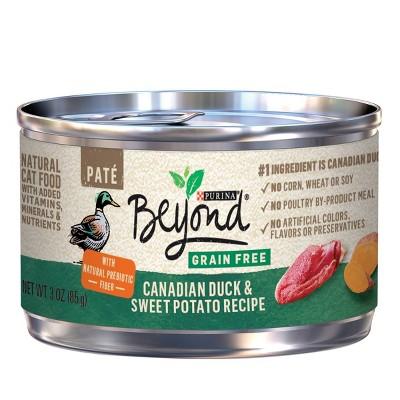 Purina Beyond Grain Free Natural Pate Grain Free Wet Cat Food Can - 3oz