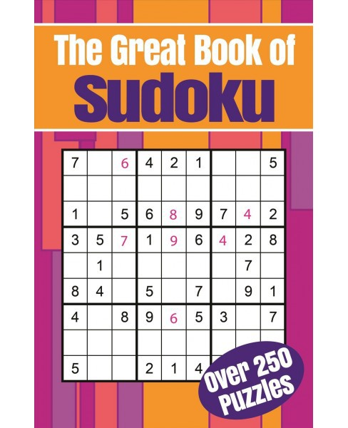 Great Book of Sudoku -  (Paperback) - image 1 of 1