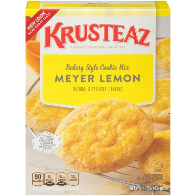 Baking Mixes: Krusteaz Meyer Lemon Cookie Mix