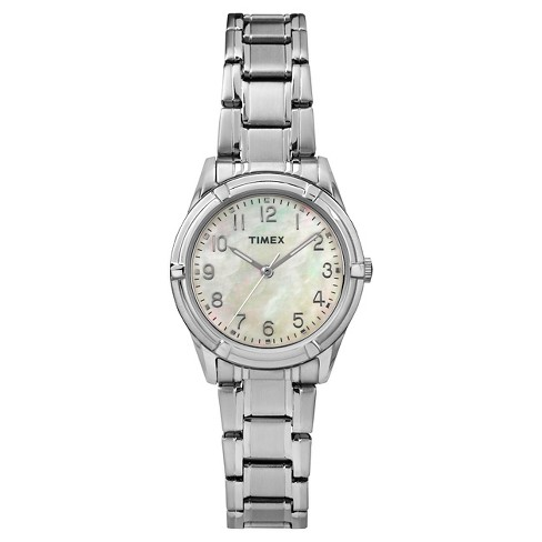 Women's Timex Watch - Silver/Mother of Pearl TW2P76000JT - image 1 of 1