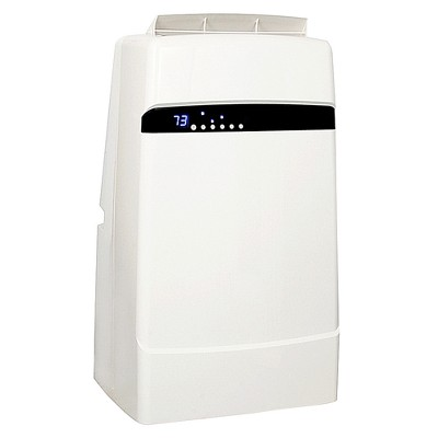 Whynter 12000-BTU Eco-friendly Dual Hose Portable Air Conditioner ARC-12SDH with Heater White