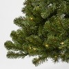 6ft Pre-lit Artificial Christmas Tree Alberta Spruce Clear Lights - Wondershop™ - image 3 of 4