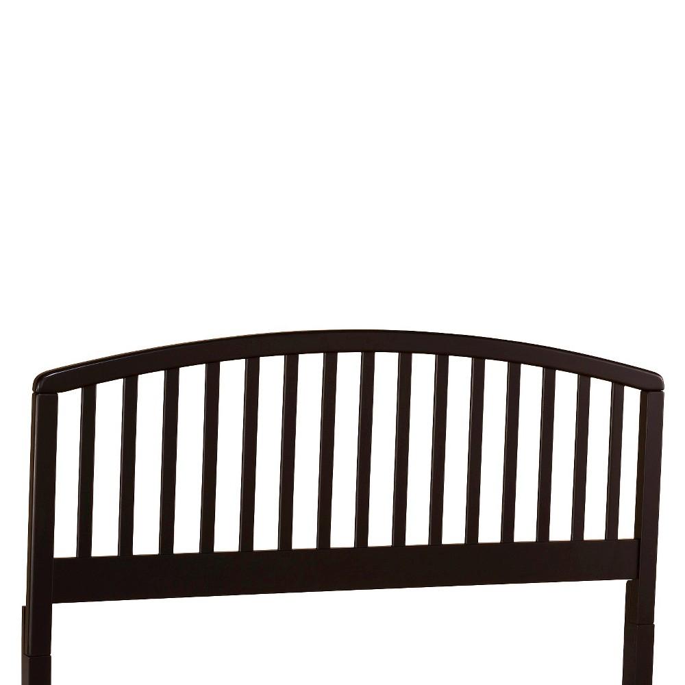 Carolina Headboard Black Twin - Hillsdale Furniture