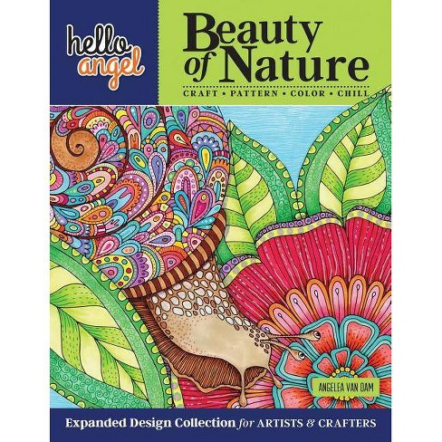 Hello Angel Beauty of Nature Expanded Design Collection for Artists & Crafters - by  Angelea Van Dam - image 1 of 1