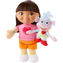 """""""Fisher-Price Nickelodeon Dora the Explorer Singing """"""""We Did It"""""""" Dora and Boots"""""""