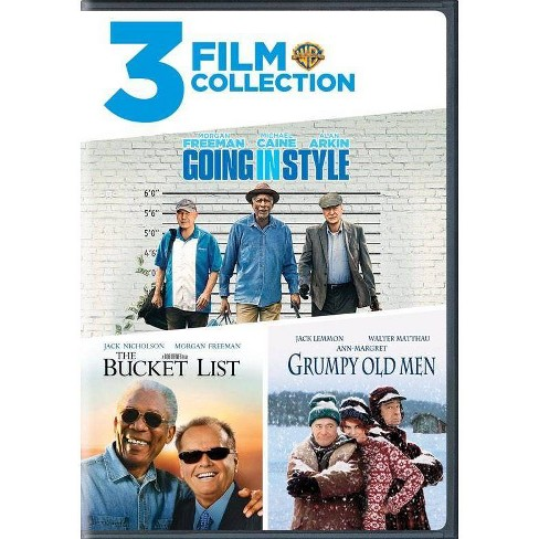 3 Film Collection: Going in Style / The Bucket List / Grumpy Old Men (DVD) - image 1 of 1