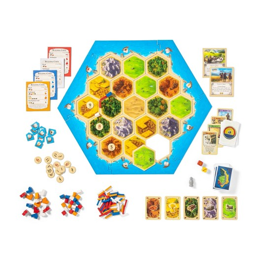 Settlers of Catan Board Game image number null