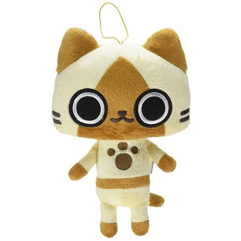 """Great Eastern Entertainment Co. Monster Hunter 8"""" Plush: Airou - image 1 of 2"""