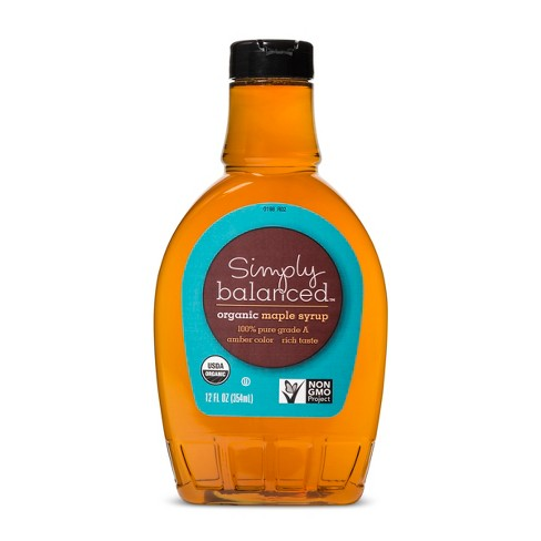 Organic Pure Maple Syrup - 12 fl oz - Simply Balanced™ - image 1 of 3