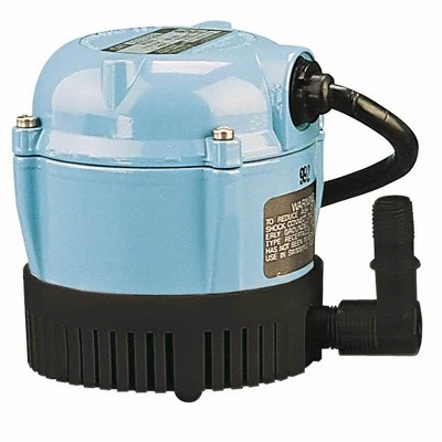 Little Giant Pumps 1-A 170 GPH 1/200 HP Permanently Oiled Direct Drive Pump   500203