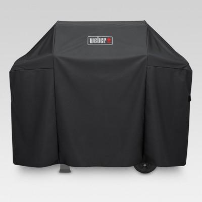 Weber Spirit 300 and Spirit II 300 Series Grill Cover - Black