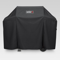 Weber Spirit 300 and Spirit II 300 Series Grill Cover - Black
