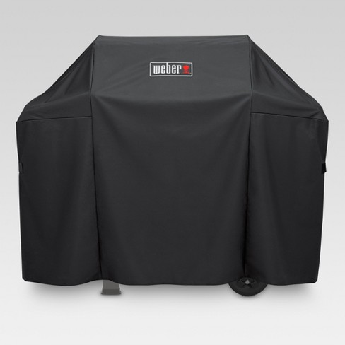 Weber Spirit 300 and Spirit II 300 Series Grill Cover - Black - image 1 of 3