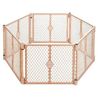 North States™ Superyard Indoor/Outdoor 6 panel- Sand