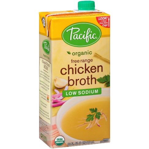 Pacific Foods Organic Low Sodium Chicken Broth 32oz Target
